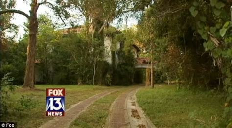 Pets welcome! Abandoned mansion becomes paradise for menagerie of coyotes, rats and a five foot