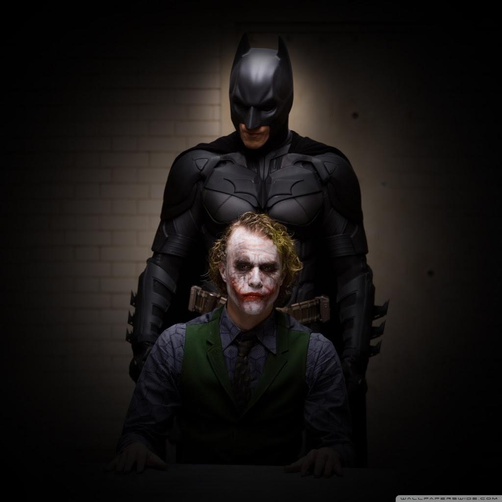 Batman And Joker 4K HD Desktop Wallpaper for 4K Ultra HD TV • Tablet • Smartphone • Mobile Devices