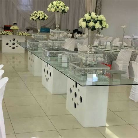 Wedding Glass Tables For Hire   Randburg   Gumtree