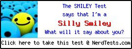 The Smiley Test -- Create and Take a Fun Test @ NerdTests.com's user tests!