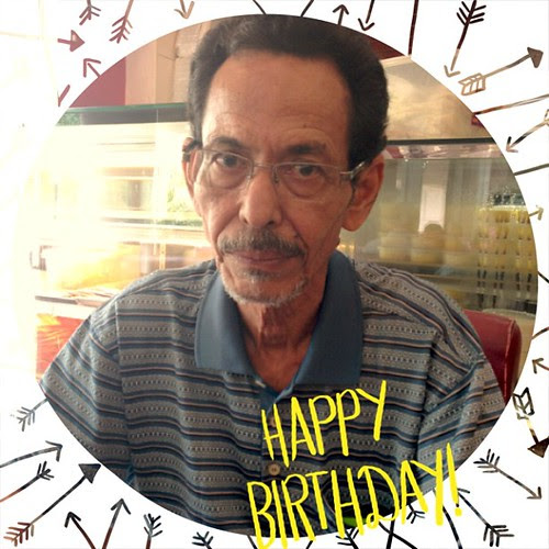 #ABeautifulMess #Happy #birthday Abah...