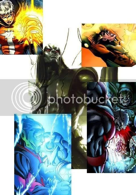 Ronan rei, Morte de Quasar e sua sucessora, derrota de Ravenous, Super-Skrull com Praxagora