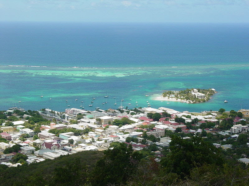 File:Christiansted, US Virgin Islands, from Recovery Hill.jpg