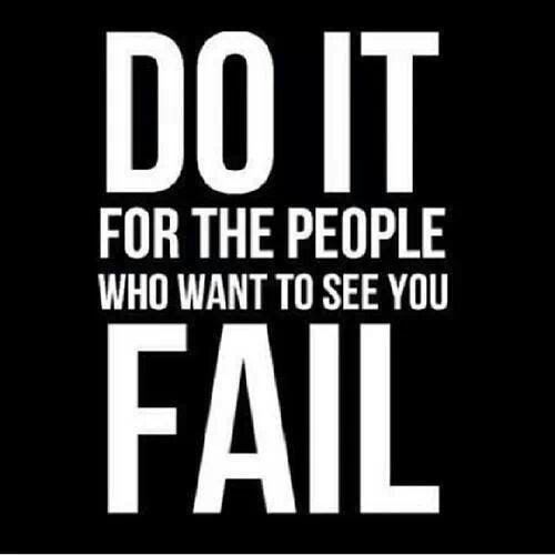 Inspirational Picture Quote Do It For The People Who Want To See