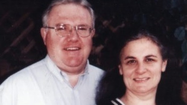 Bruce Hales, Sydney-based global leader of the Exclusive Brethren, pictured with his wife Jennifer.