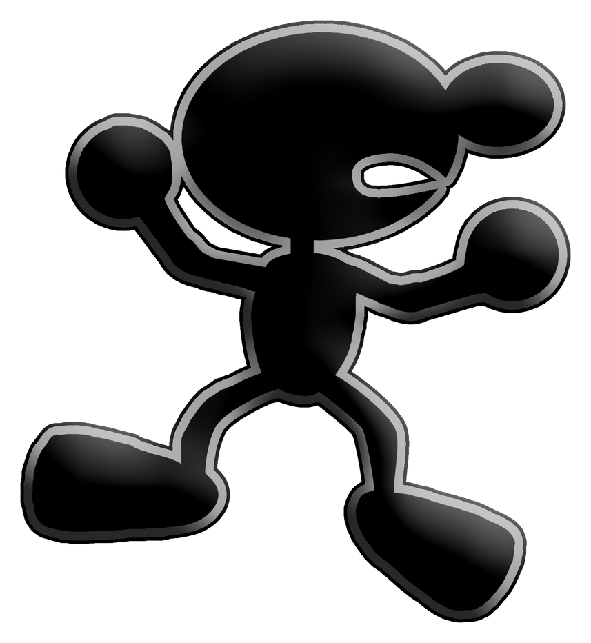 Game Wallpaper 3d Printed Mr Game And Watch By Dinodinosaur On
