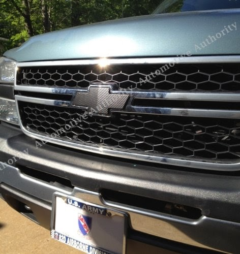 Carbon Sticker Check Out Chevrolet Silverado 03 06 04 05