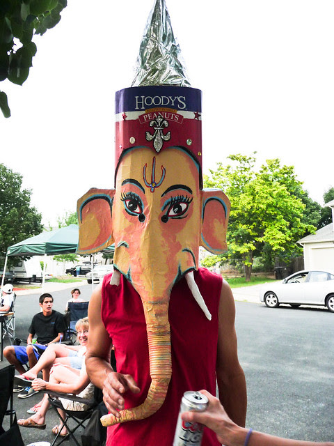 John as Ganesh