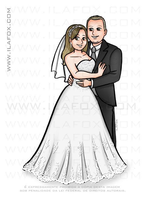 caricatura desenho, caricatura casal, caricatura noivos, caricatura sem exageros, by ila fox