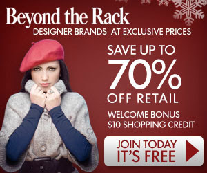 Get designer brands at up to 70% off retail!  - Click here for details...