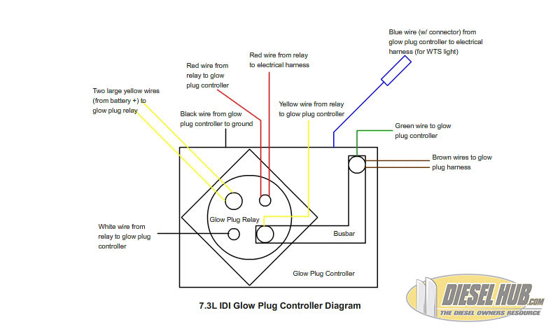 73 Glow Plug Relay Wiring Diagram