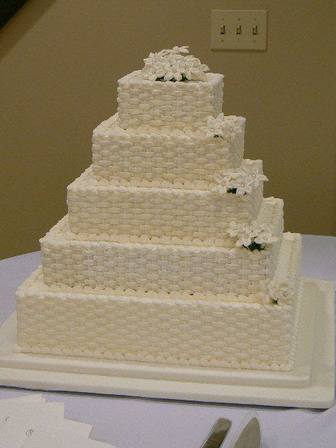 square wedding cakes with flowers. Cake Gallery | Wedding Cakes