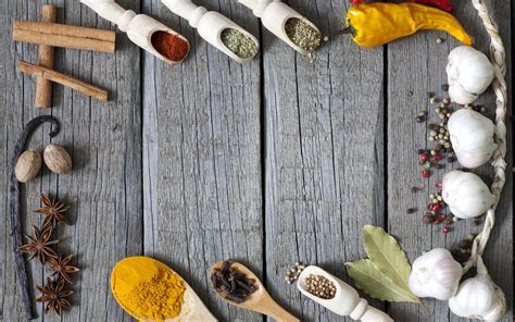 Herbs and Spices Full HD Wallpaper and Background
