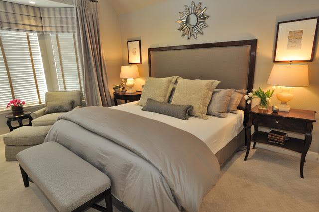 Calming Master Bedroom - Contemporary - Bedroom - San ...