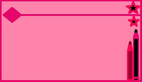 Download 65 Background Ppt Lucu Pink HD Paling Keren