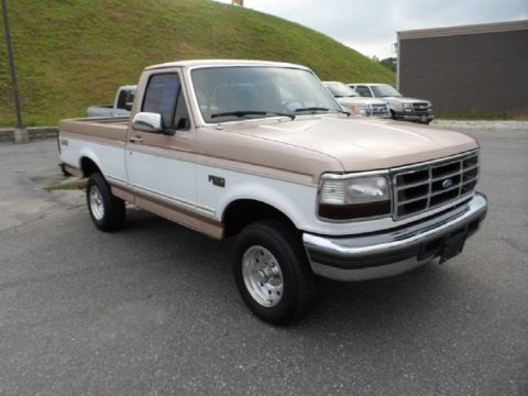 1996 Ford F150 Xlt Regular Cab 4x4 Data Info And Specs