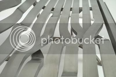 Aluminium Bench Detail