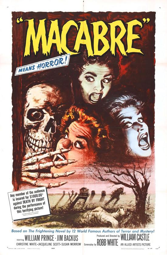 affiche vintage film horreur 1950 16 Affiches de films dhorreur des années 50  design