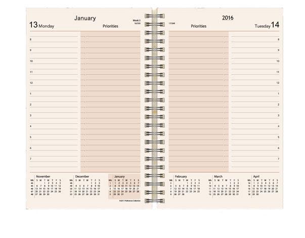 Preference Collection Planner Refills 2016, Sun Graphix Organizer ...