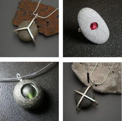 Pebble jewelry