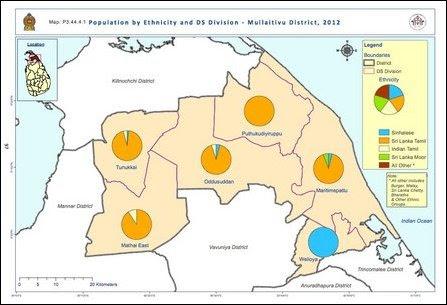 Census map Mullaiththeevu