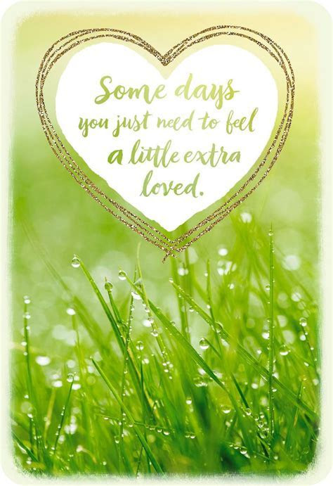 Sending You Extra Love Thinking of You Card   Greeting