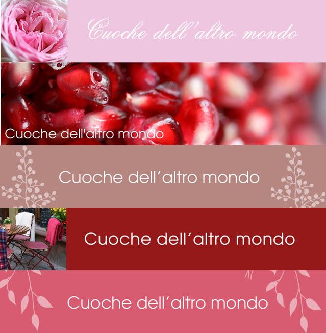 Carrellata header rosa