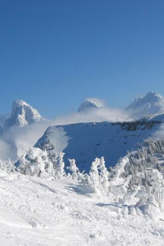 Best Ski Resort Grand Targhee Wyoming Grand Teton S From Fred S Mountain 320x480 Iphone Itouch Wallpaper 1