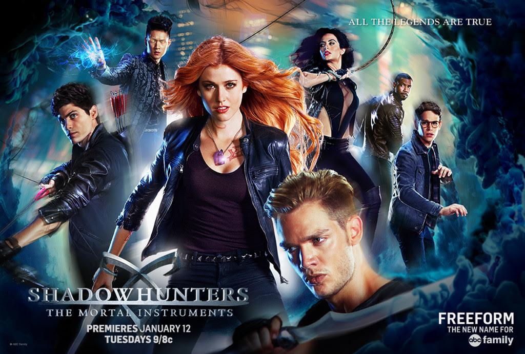 Resultado de imagem para shadowhunters season 2 poster