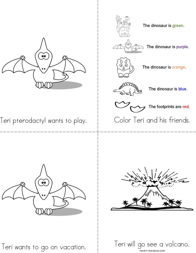 Teri pterodactyl Book - Twisty Noodle