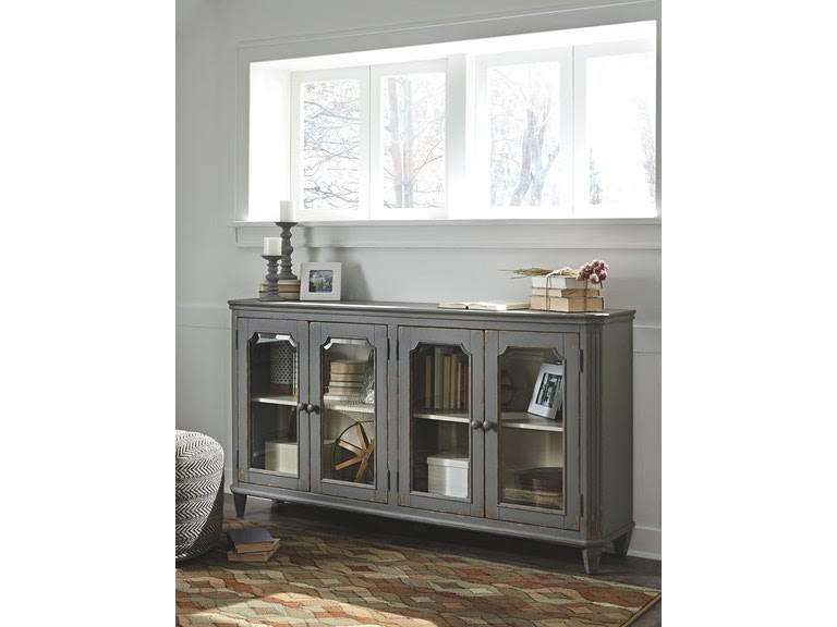 Signature Design By Ashley Bedroom Door Accent Cabinet T505 662 D
