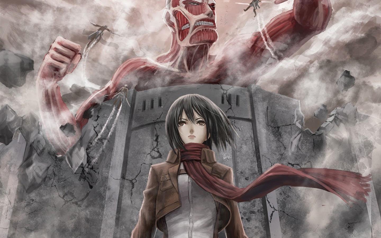 Mikasa Ackerman Shingeki No Kyojin Attack On Titan Wallpaper 37707736 Fanpop