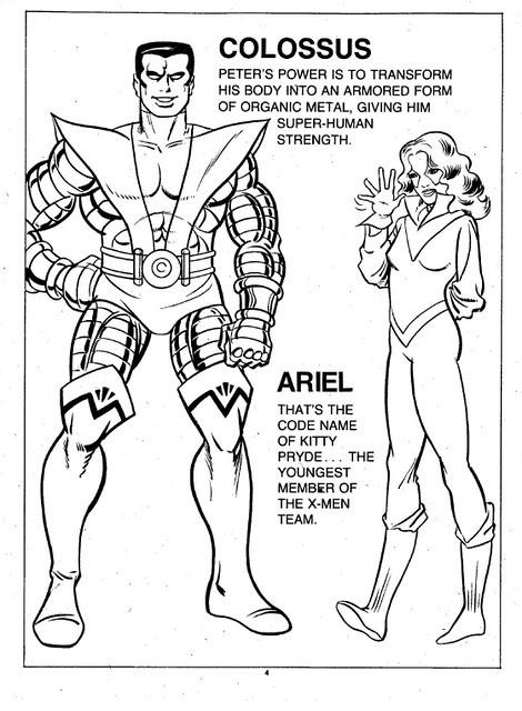 X-Men Super Activity Book00005