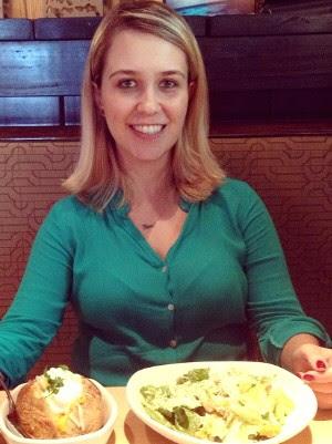 Jornalista come saladas e segue dieta à risca (Foto: Reprodução/ Facebook)