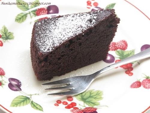 Nasi Lemak Lover Moist Chocolate Cake