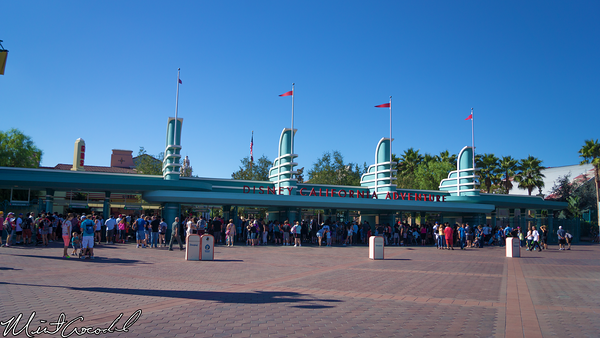 Disneyland Resort, Disney California Adventure, Main Entrance, Turnstile