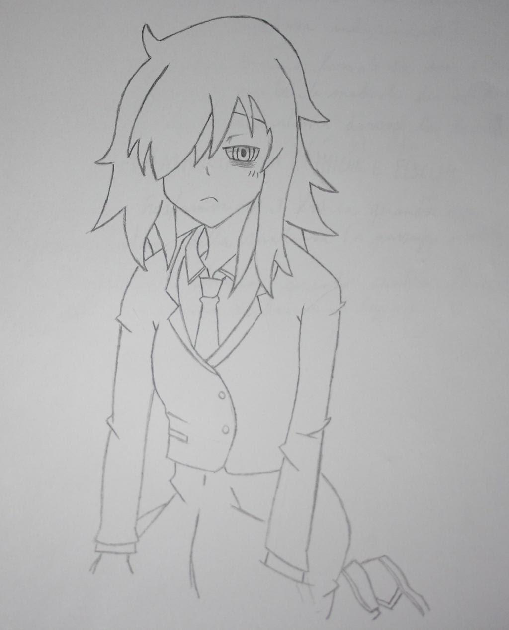 Depressed Anime Girl by MattyPiranha on DeviantArt