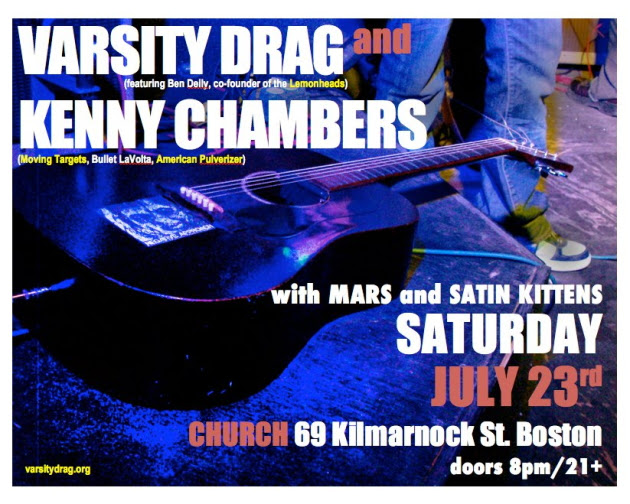Varsity Drag with Kenny Chambers, Church of Boston, July 23