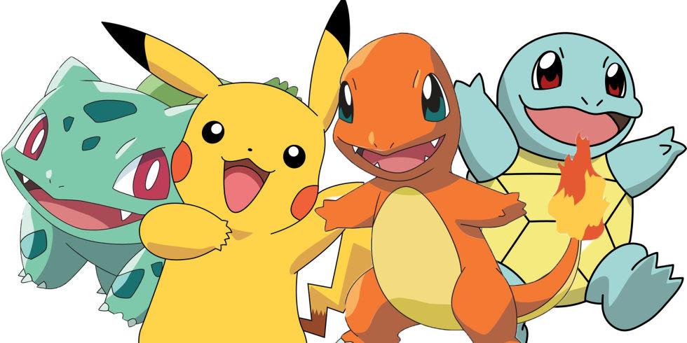 Znalezione obrazy dla zapytania starter pokemon