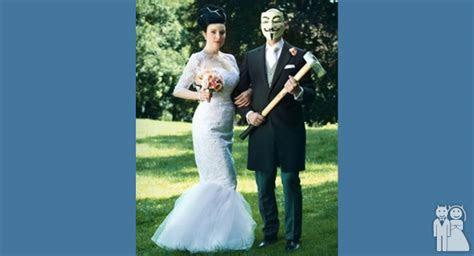 V For Vendetta   Wedding Unveils   Funny Wedding Photos