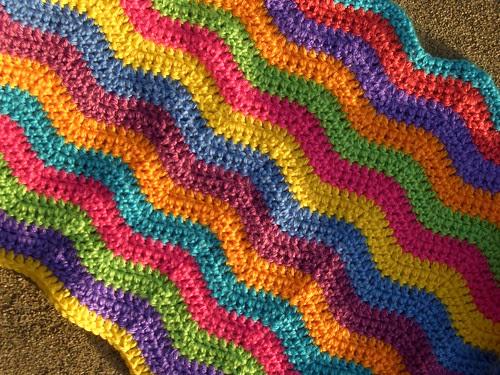 Ripple Blanket Progress