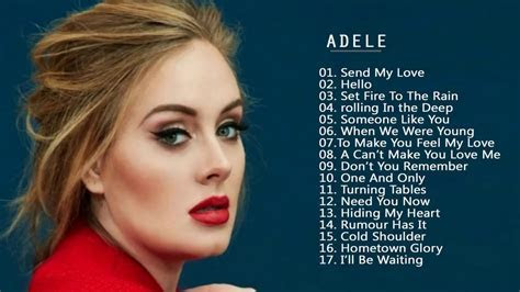 ADELE Greatest Hits   Best Songs Of ADELE Playlist 2017