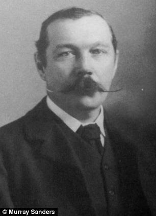 Sherlock Holmes creator Sir Arthur Conan-Doyle, who lived near the site, was one of the people rumoured to have been involved in the hoax