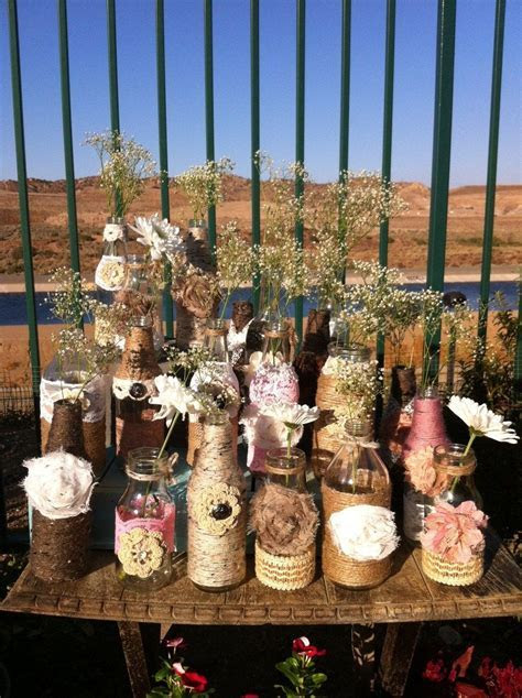 Wholesale Rustic Bottles Jugs And Mason Jars  Rustic Chic