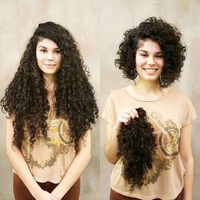 Imagens provando que mudar os cabelos pode fazer toda diferença