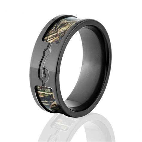Max 5 Camo Rings, RealTree Camo Rings, Camo Wedding Bands