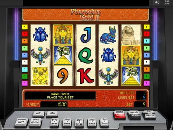 Игровые автоматы pharaons gold онлайн высокие