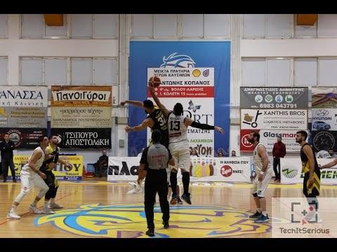 Στιγμιότυπα και δηλώσεις από τον αγώνα Νίκη Βόλου-Ίκαροι Τρικάλων για την Γ΄ Εθνική ανδρών