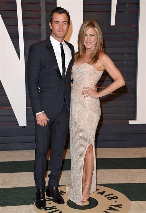 Jennifer Aniston and Justin Theroux   Celebrities Who Got