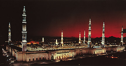 The Prophet Muhammad's Mosque in Madinah